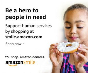Be a hero to people in need: Support human services by shopping at smile.amazon.com